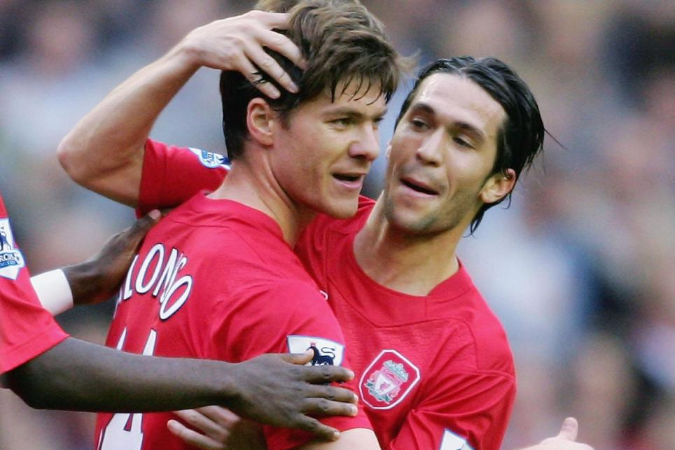 Luis Garcia and Xabi Alonso, Liverpool