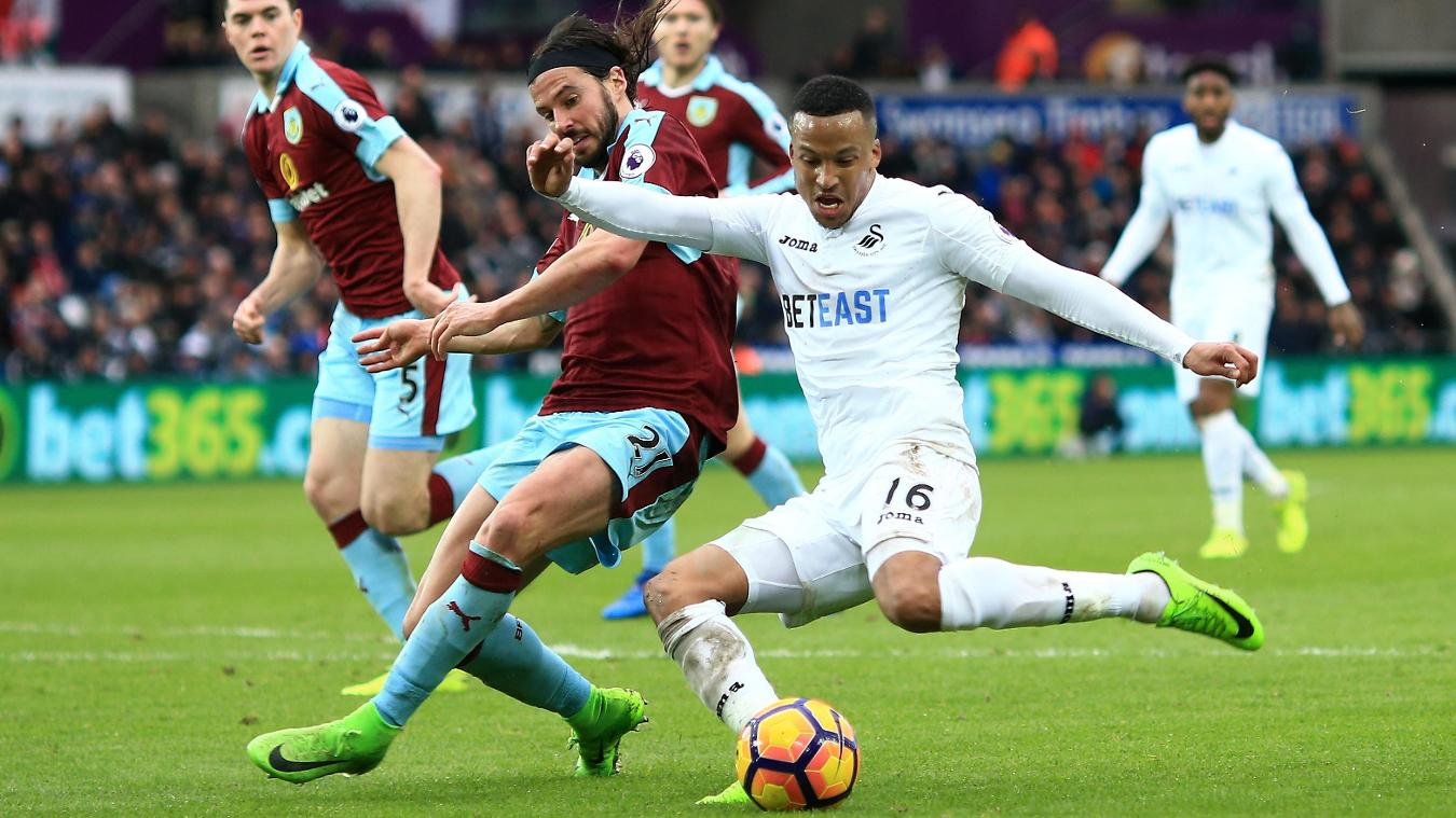 Swansea City v Burnley