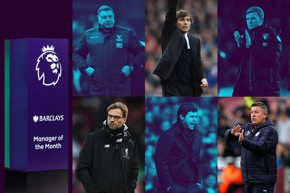 Barclays Manager of the Month nominees for March