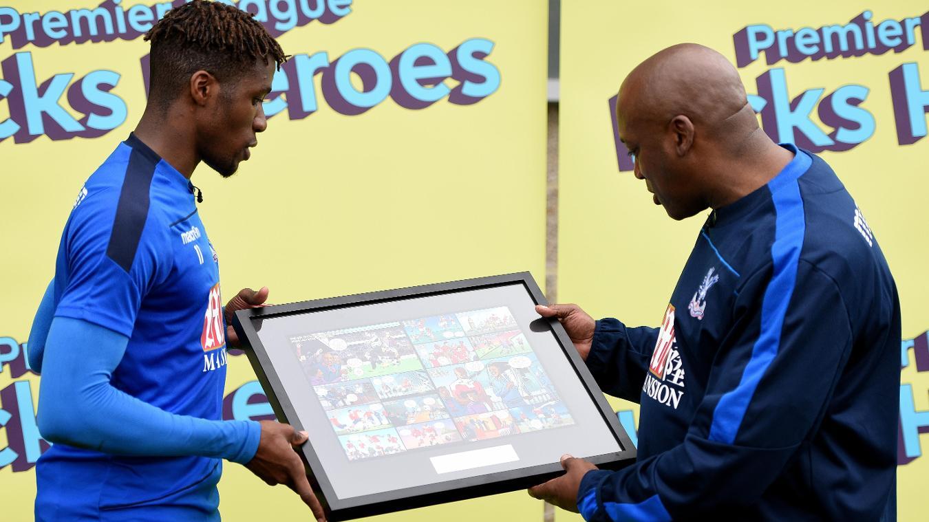 PL Kicks Heroes: Michael Lacey, Wilfried Zaha