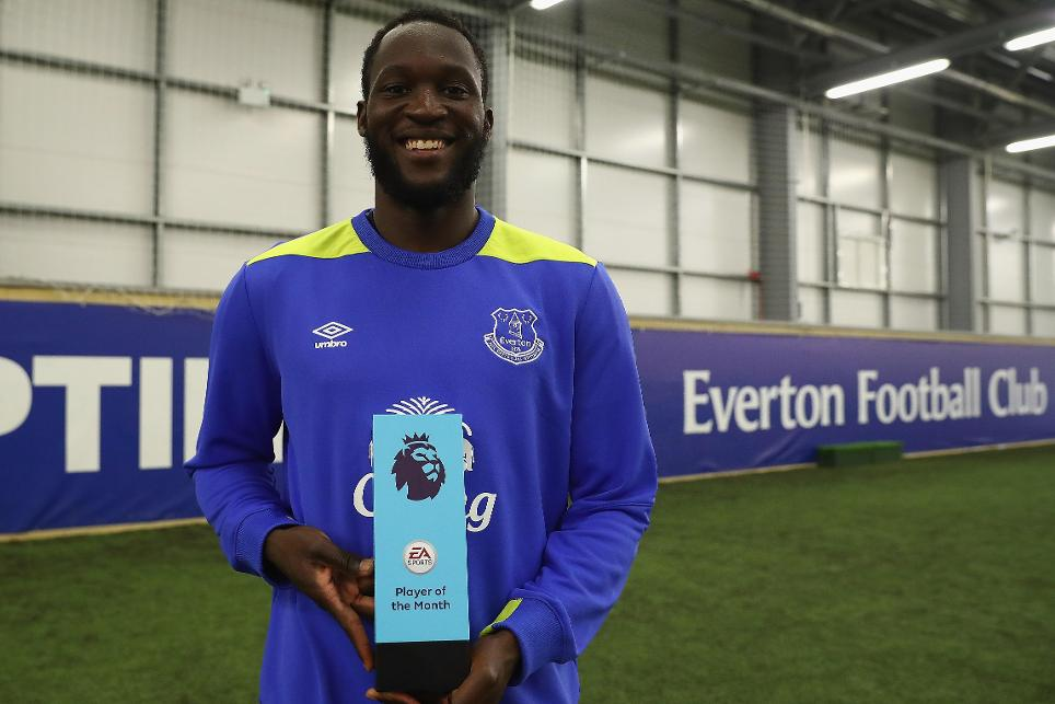 Romelu Lukaku, Everton, EA SPORTS Player of the Month
