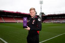 Eddie Howe, AFC Bournemouth, Barclays Manager of the Month