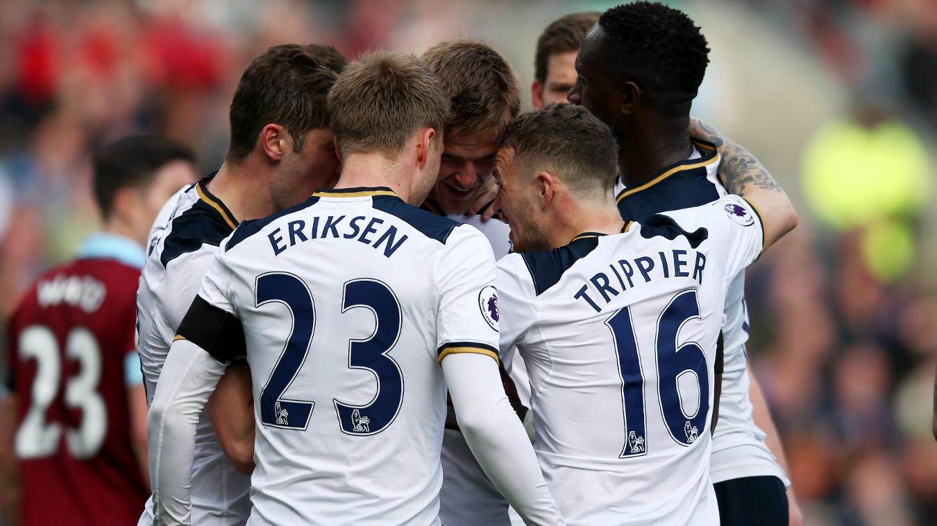Burnley 0-2 Spurs
