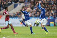On this day in 2015: Leicester 2-1 West Ham