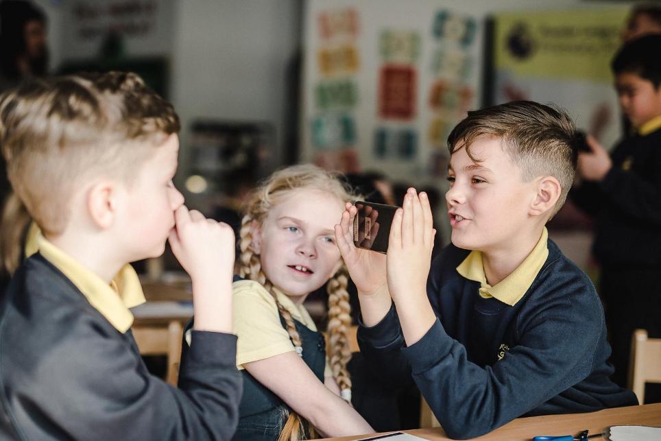 Croxteth Primary Schoolchildren, Primary Stars and LFC Foundation