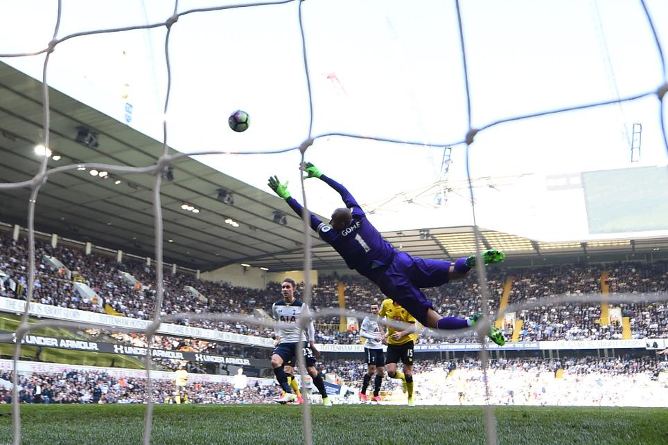 Dele Alli scores for Spurs at White Hart Lane