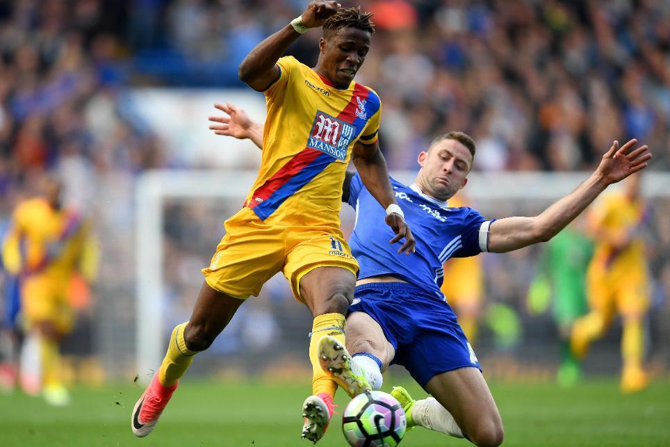 Chelsea v Crystal Palace Wilfried Zaha
