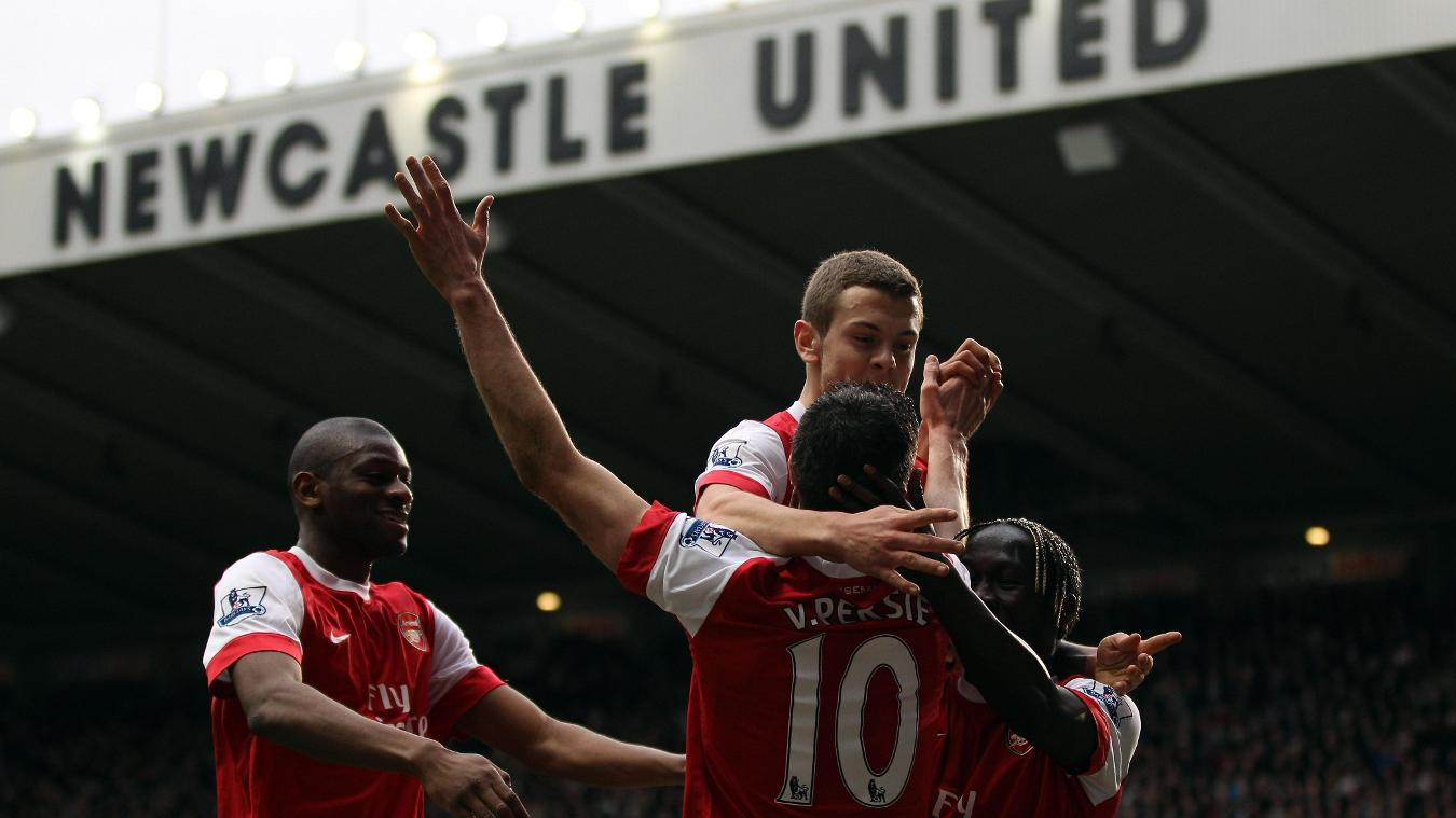 Newcastle United v Arsenal, February 2011