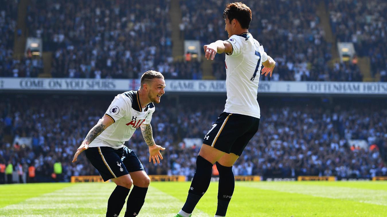Kieran Trippier and Son Heung-min, Tottenham Hotspur