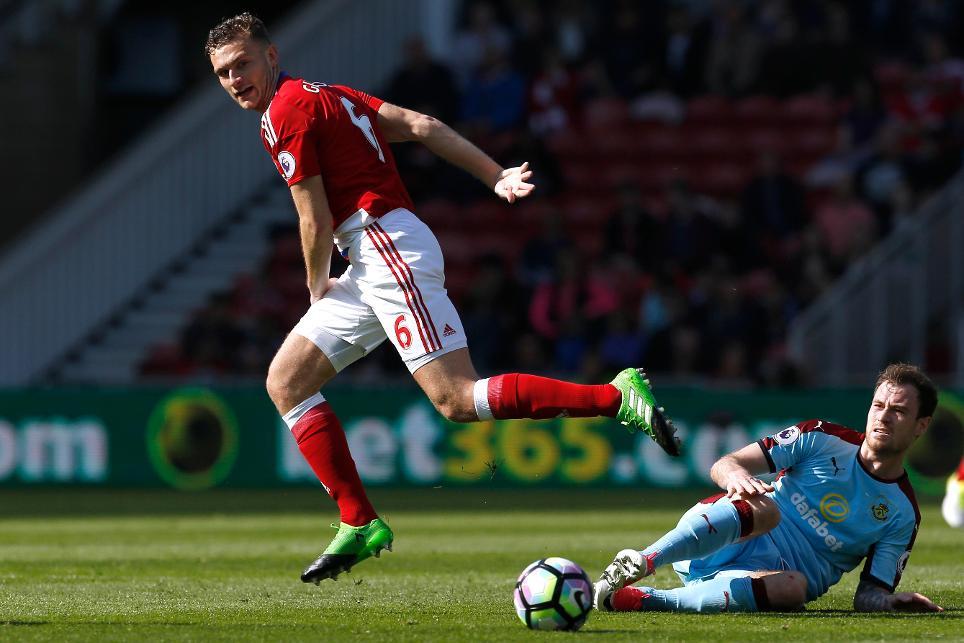 Middlesbrough's Ben Gibson