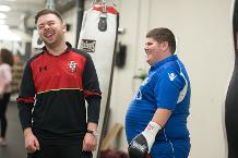 'I gave boxing a go and I never looked back'