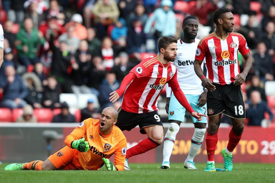 Sunderland v West Ham United