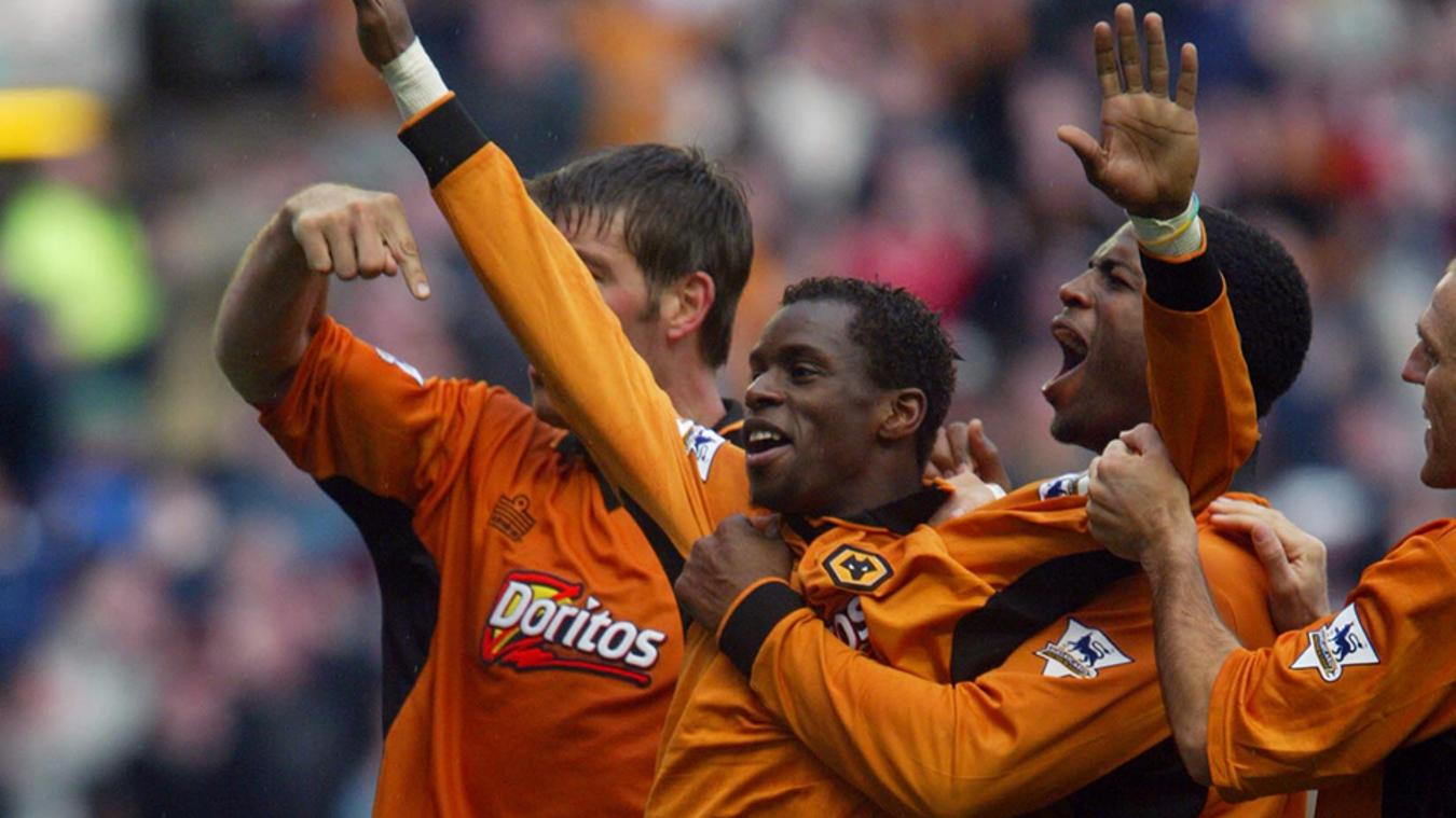 Wolves 4-3 Leicester, 2003/04
