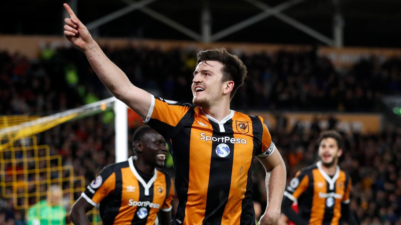 Hull City's Harry Maguire