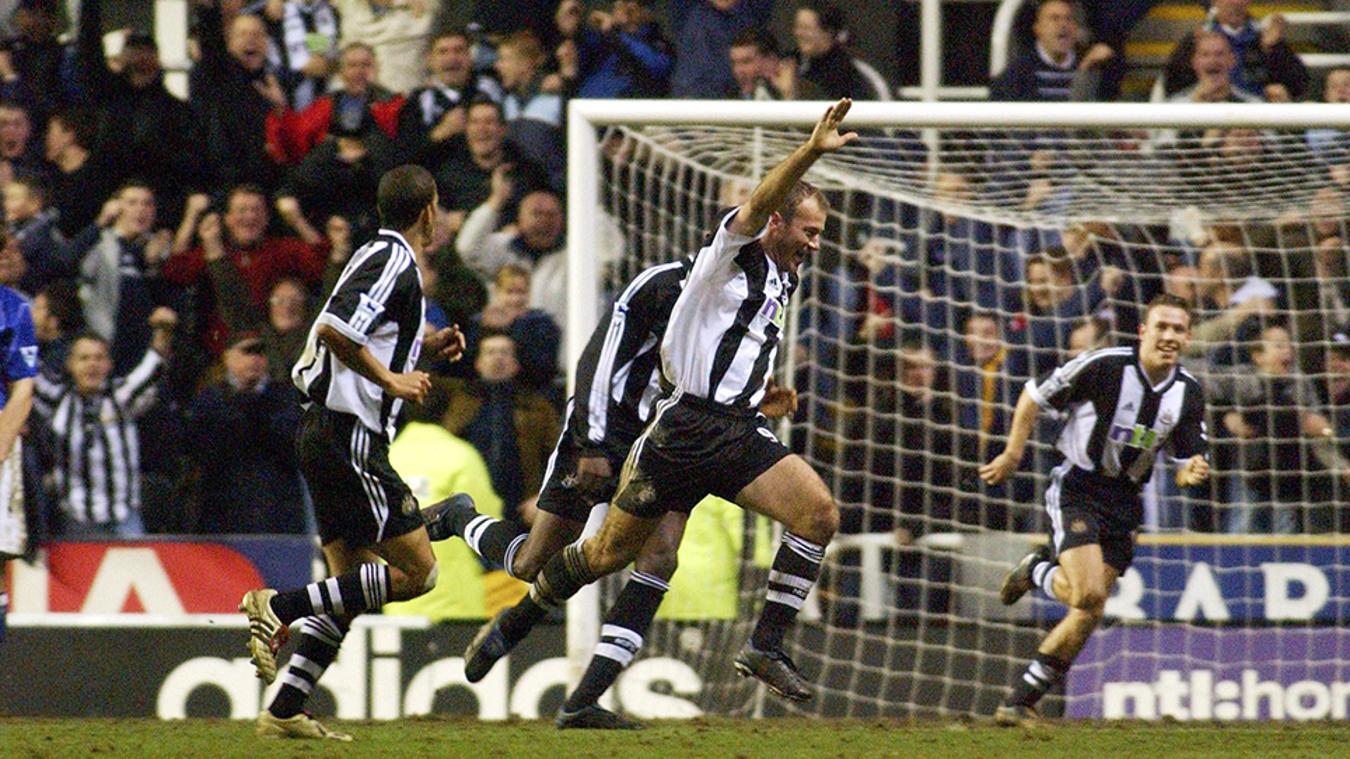 Newcastle 2-1 Everton, 2002/03