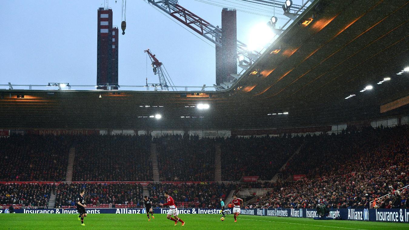 Middlesbrough v Sunderland, 26 April
