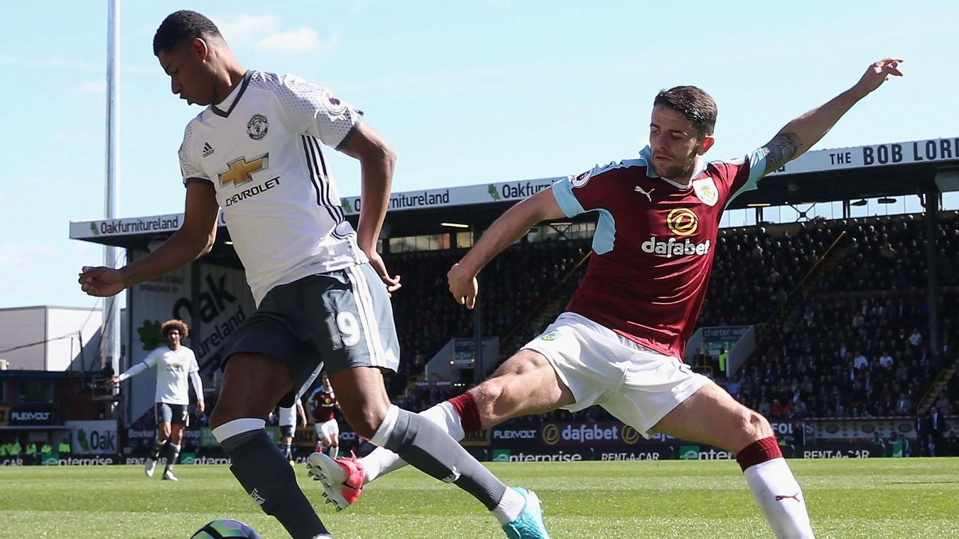 Marcus Rashford, Burnley v Manchester United
