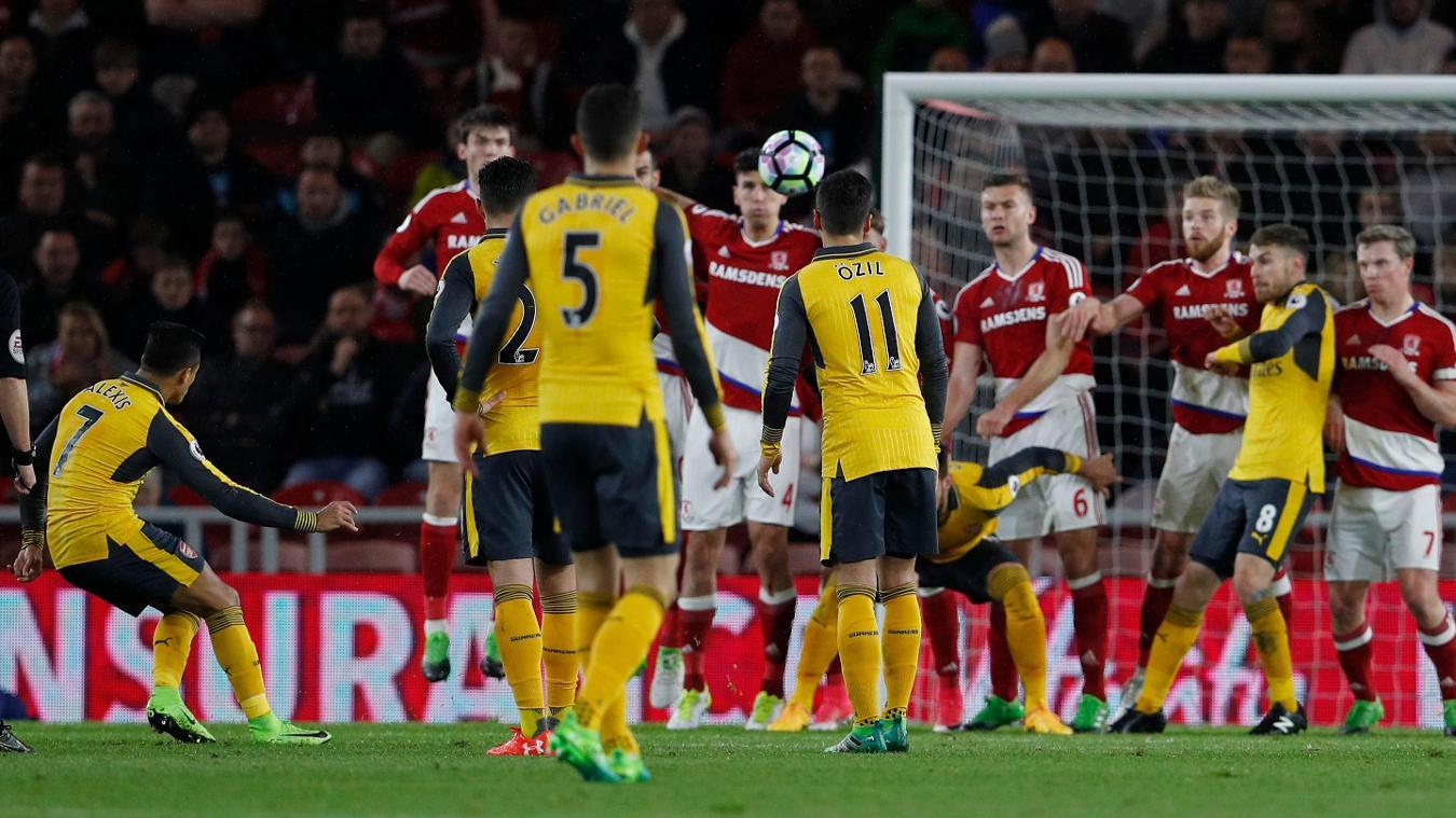 Arsenal's Alexis Sanchez