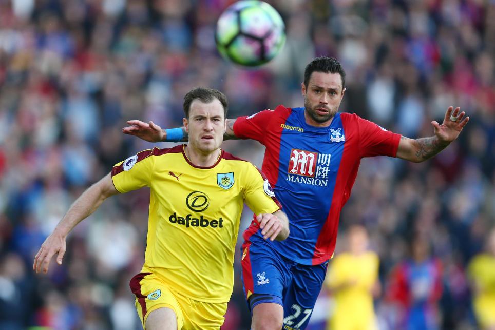 Crystal Palace v Burnley - Ashley Barnes