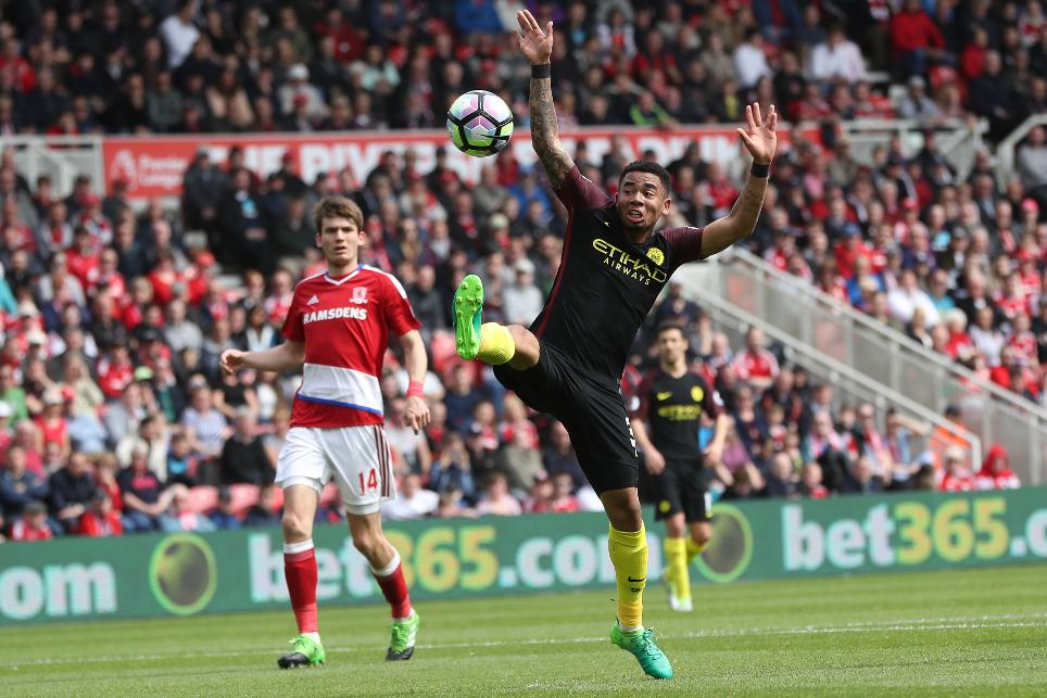 Middlesbrough v Manchester City