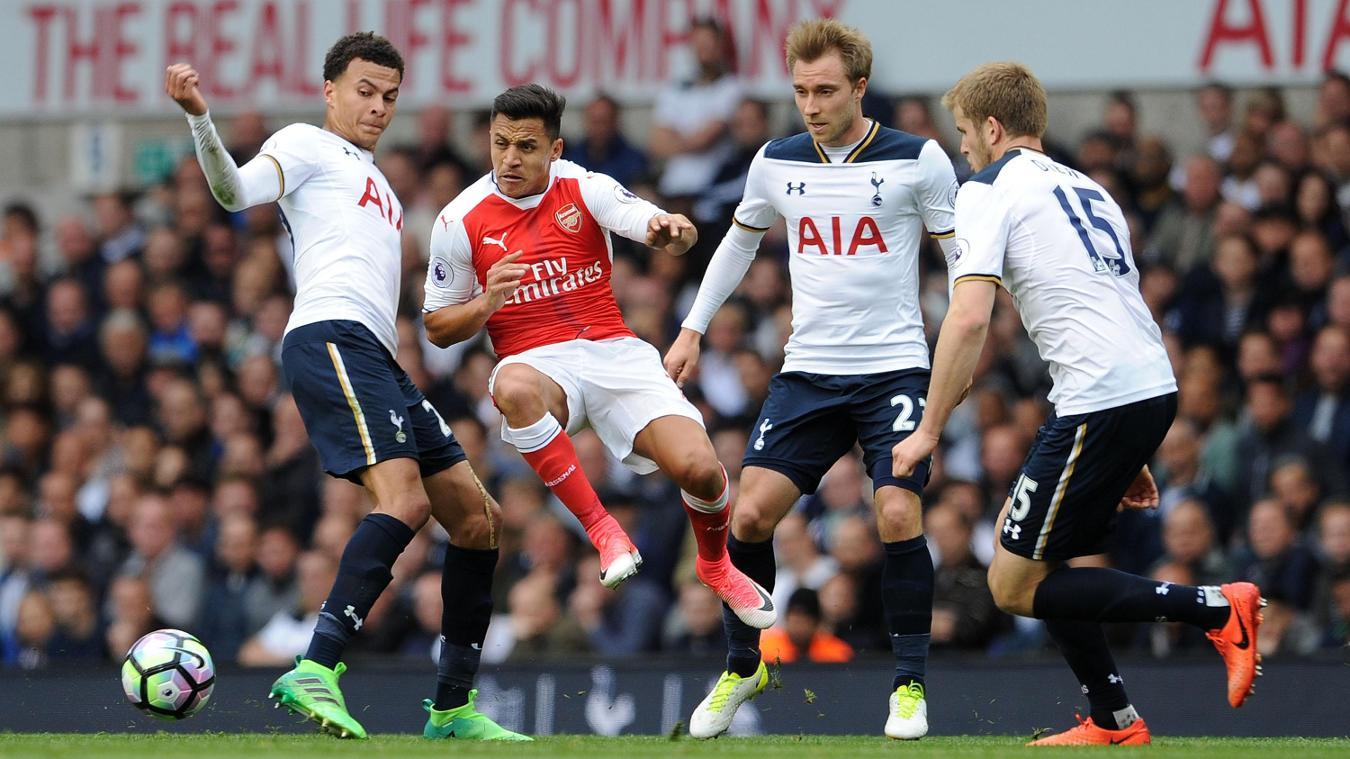 Tottenham Hotspur v Arsenal Alexis Sanchez
