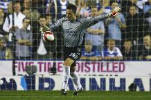Hazard: Legend Terry would go in goal!