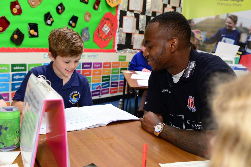 Saido Berahino, Stoke City, Premier League Primary Stars