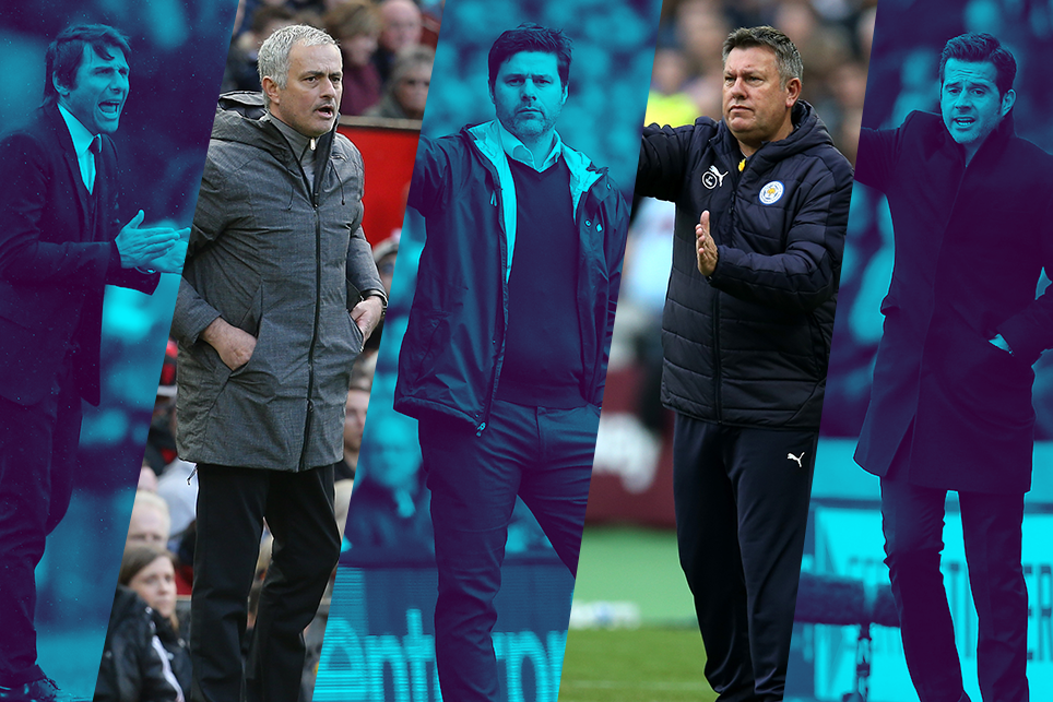 Barclays Manager of the Month nominees for April
