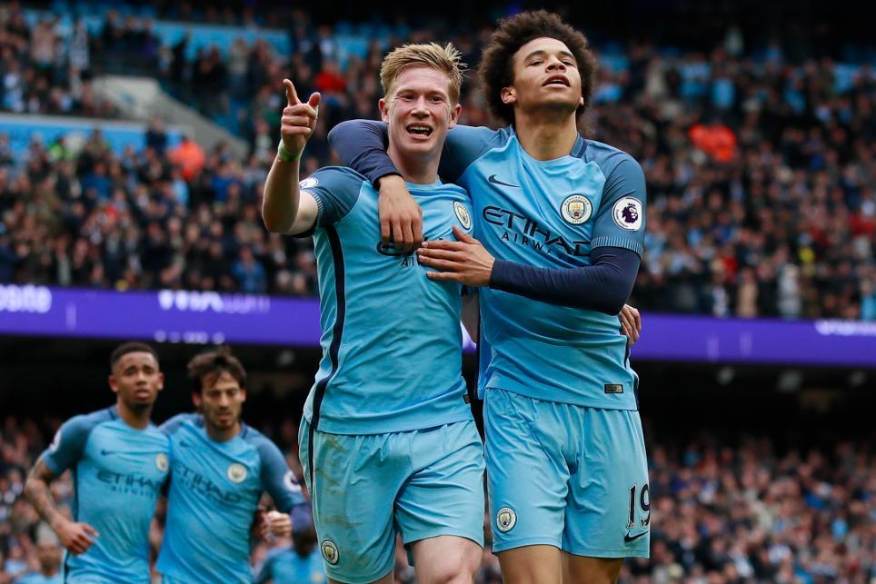 Manchester City's Kevin De Bruyne