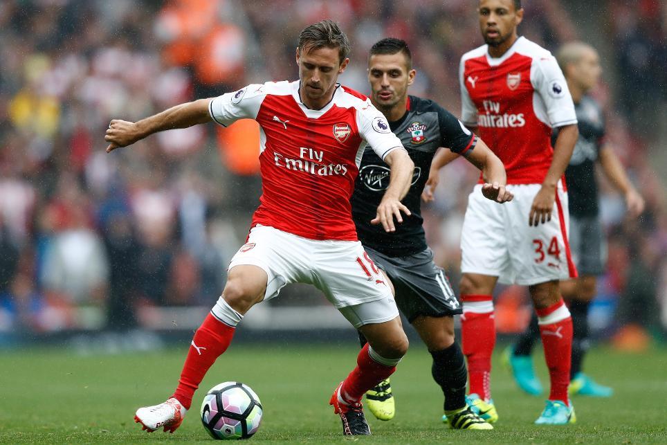 Nacho Monreal, Arsenal v Southampton