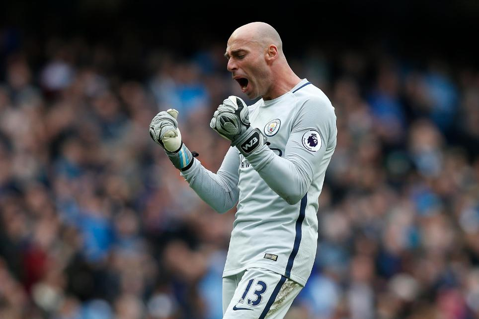Manchester City's Willy Caballero