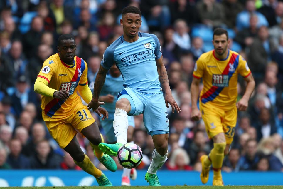 Gabriel Jesus, Manchester City v Crystal Palace