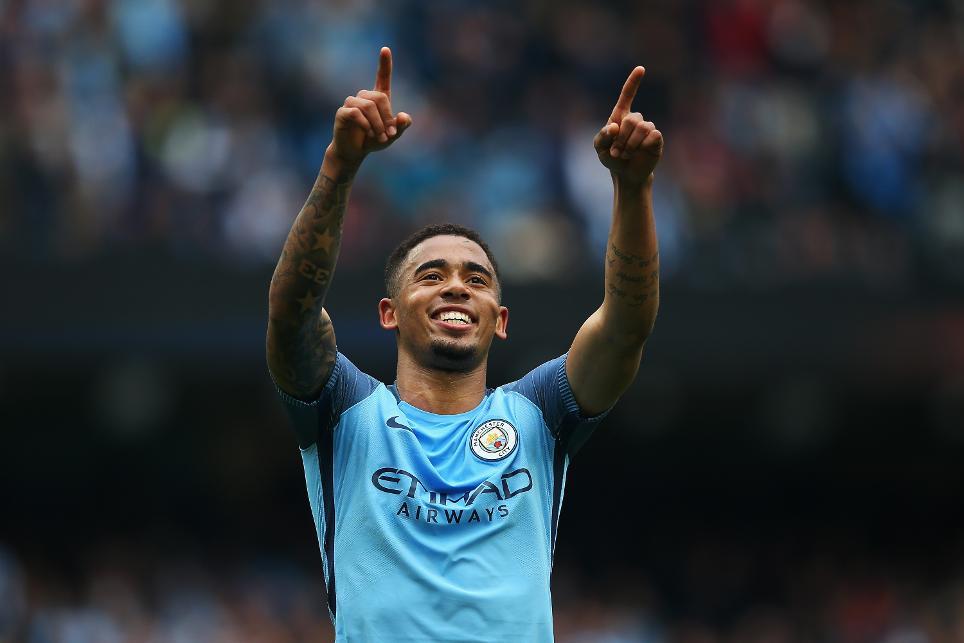 Manchester City v Leicester City, Gabriel Jesus