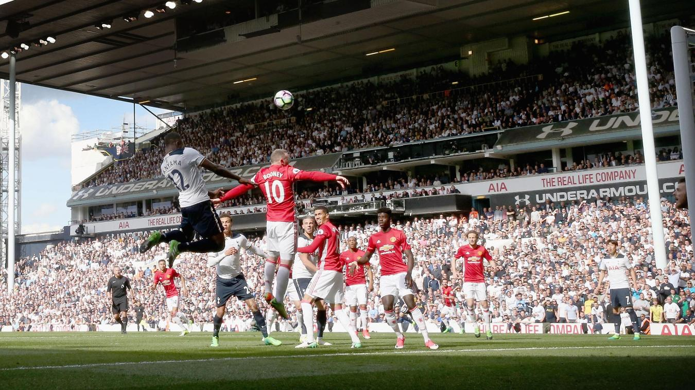 Tottenham Hotspur v Manchester United, Victor Wanyama scores