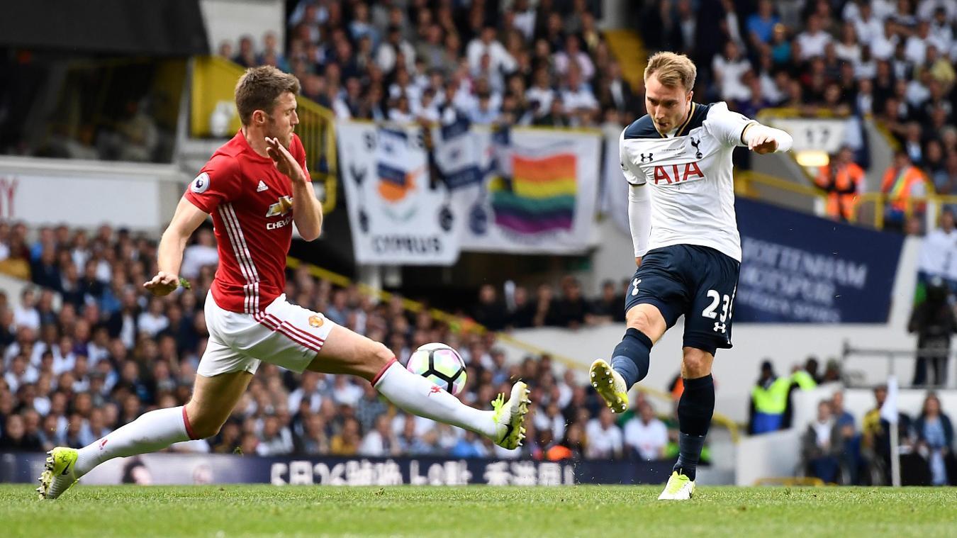 Chrisitan Eriksen, Tottenham Hotspur v Stoke City