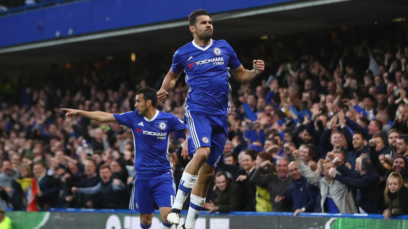 Chelsea v Middlesbrough, Diego Costa