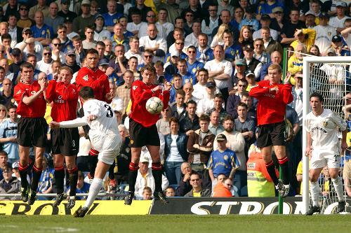 Leeds V Man Utd 2001 02 Premier League