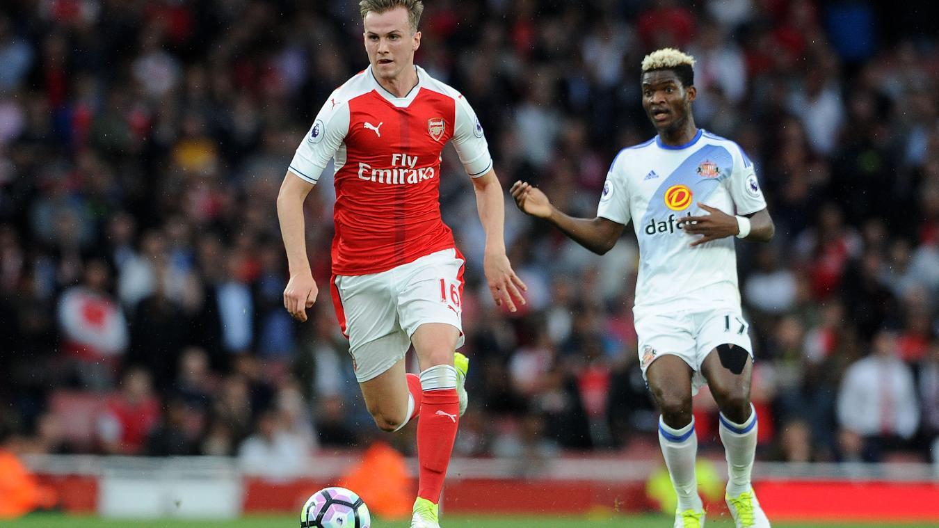 Arsenal v Sunderland, Rob Holding
