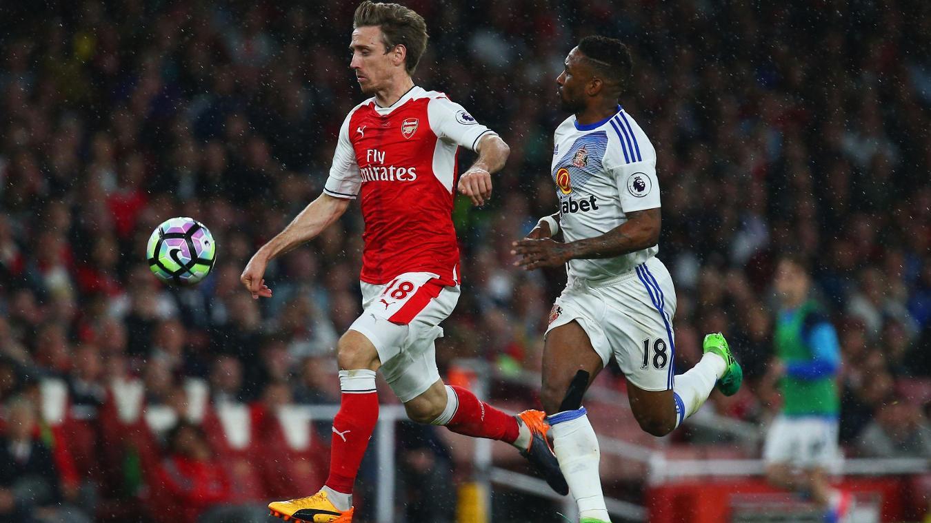 Arsenal v Sunderland, Nacho Monreal