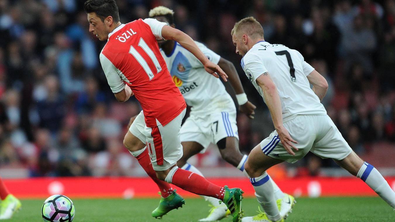 Arsenal v Sunderland, Mesut Ozil