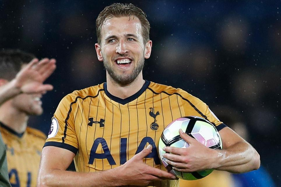 kane scores four as spurs hit foxes for six kane scores four as spurs hit foxes for six