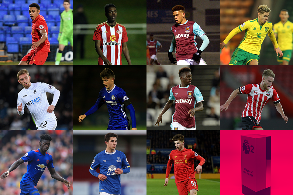 PL2 Player of the Season shortlist 2016/17