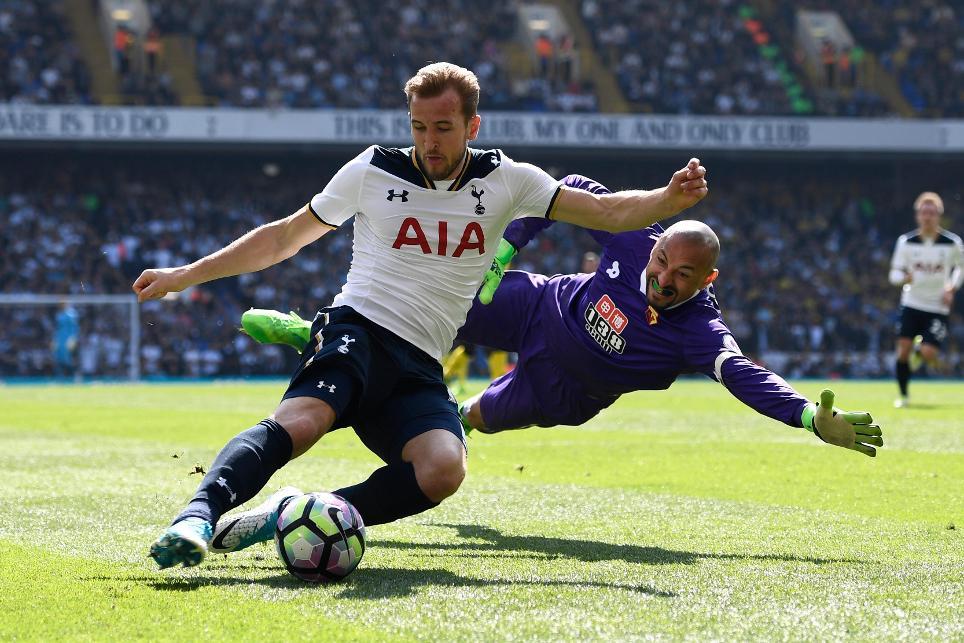 Tottenham Hotspur's Harry Kane