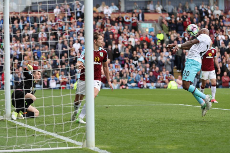 Burnley 1-2 West Ham