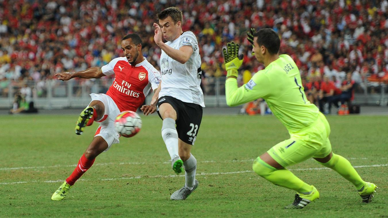 Arsenal v Everton, 2015 Premier League Asia Trophy