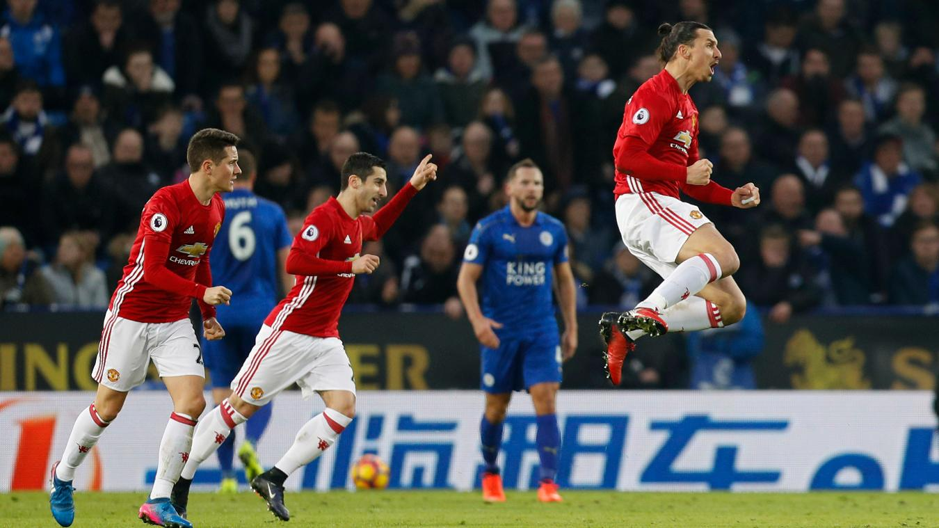 Matchweek 24: Leicester City 0-3 Manchester United