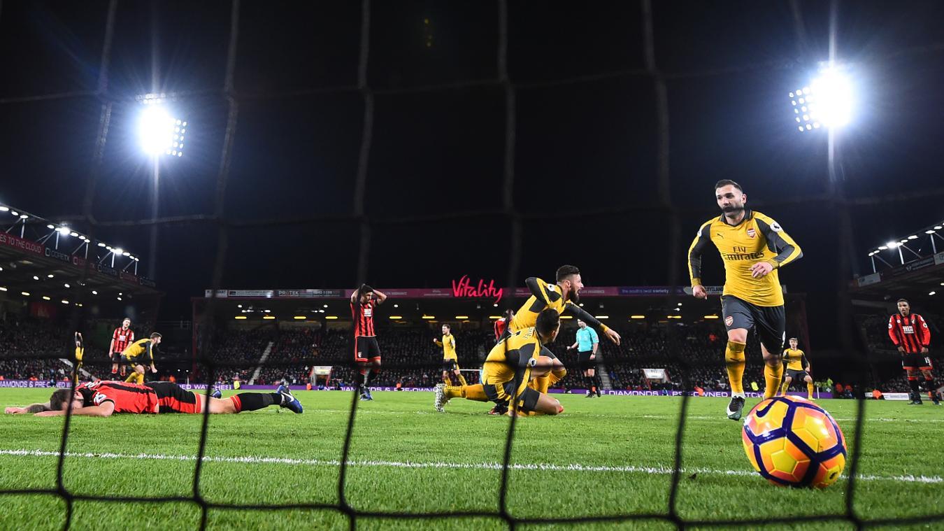 Matchweek 20: AFC Bournemouth 3-3 Arsenal