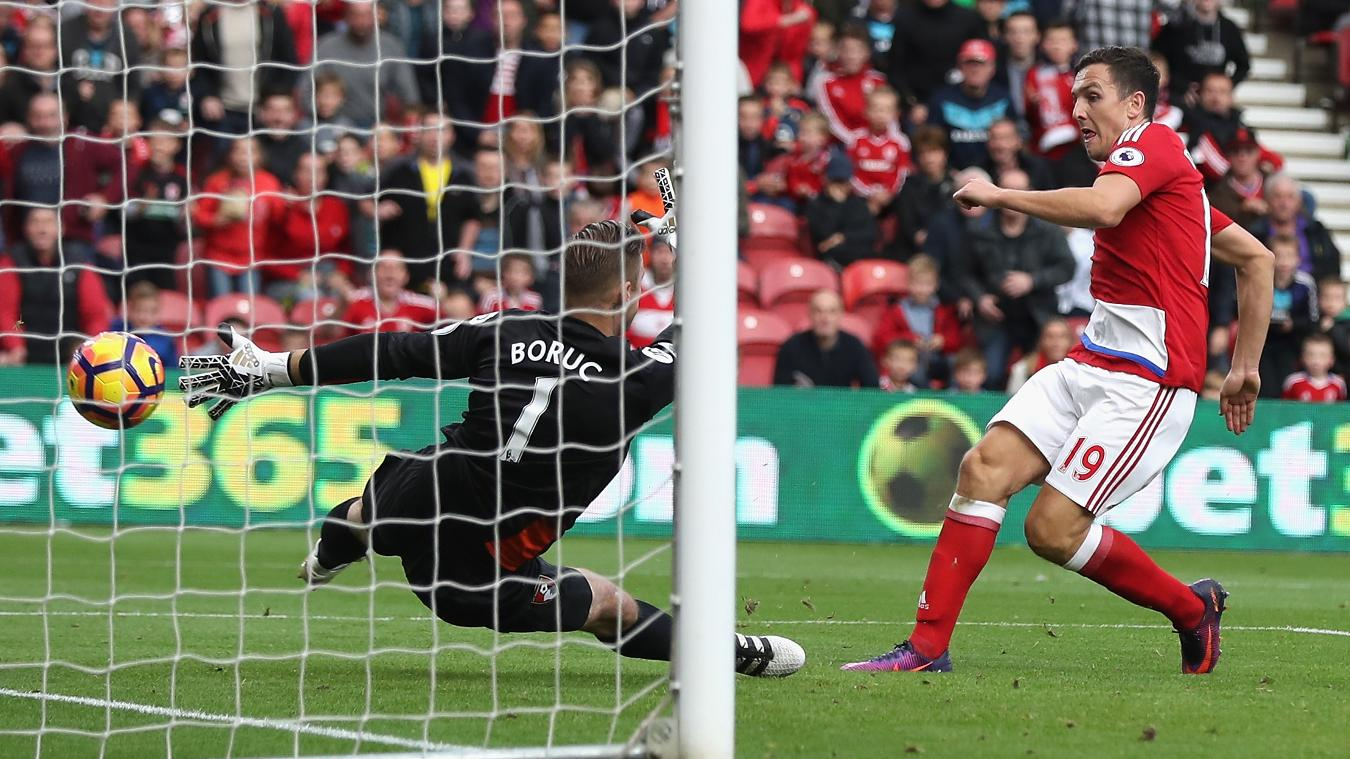 Matchweek 10: Middlesbrough 2-0 AFC Bournemouth