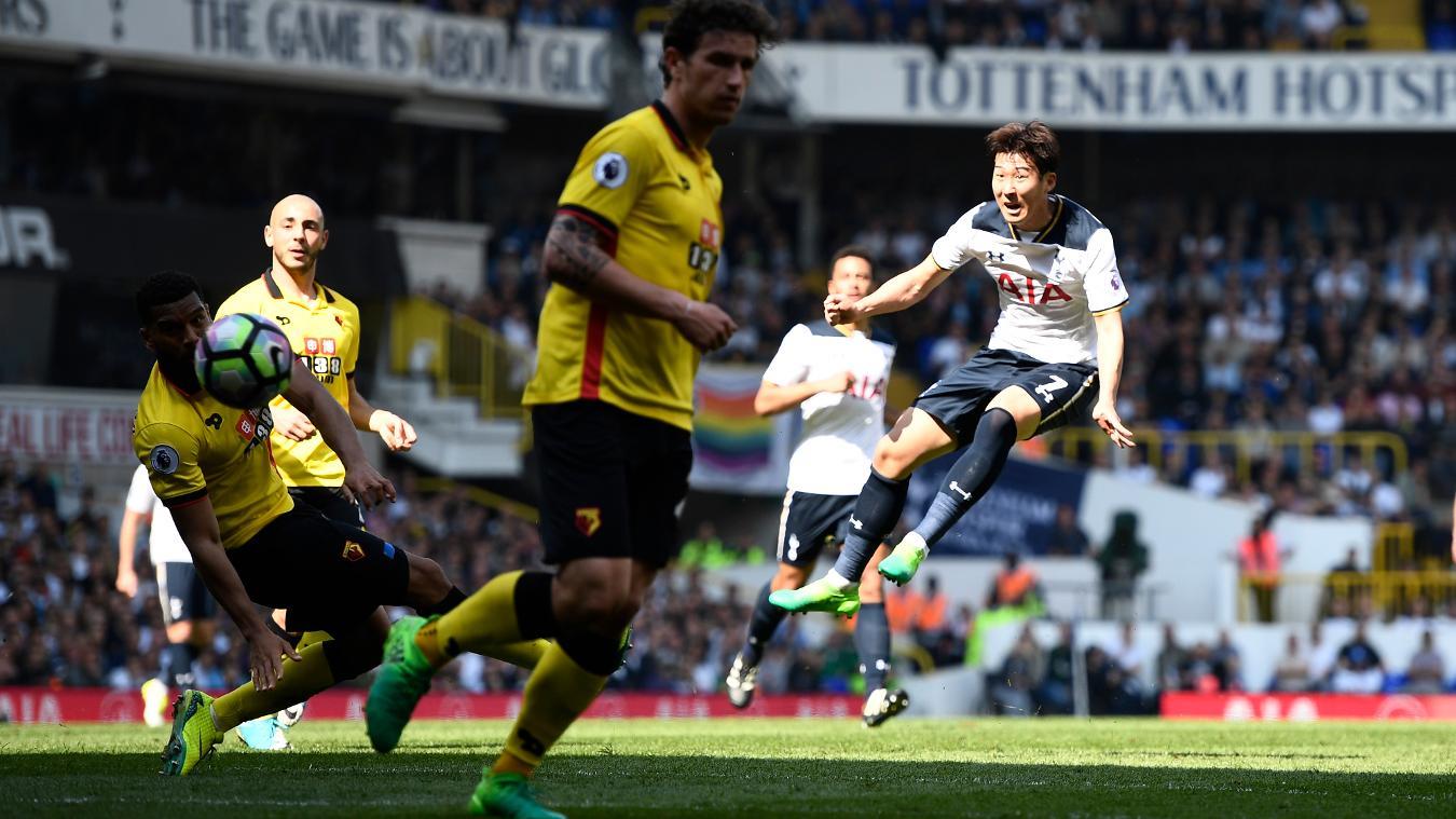 Matchweek 32: Tottenham Hotspur 4-0 Watford