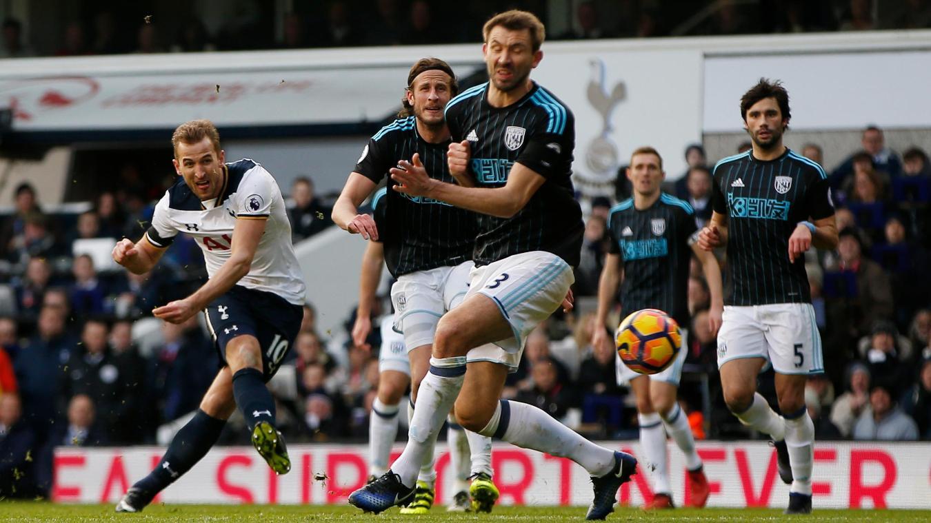 Tottenham Hotspur striker Harry Kane